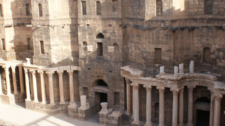 Palmira - Il teatro romano - Siria