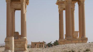 Tetrapilo - Palmira - Siria