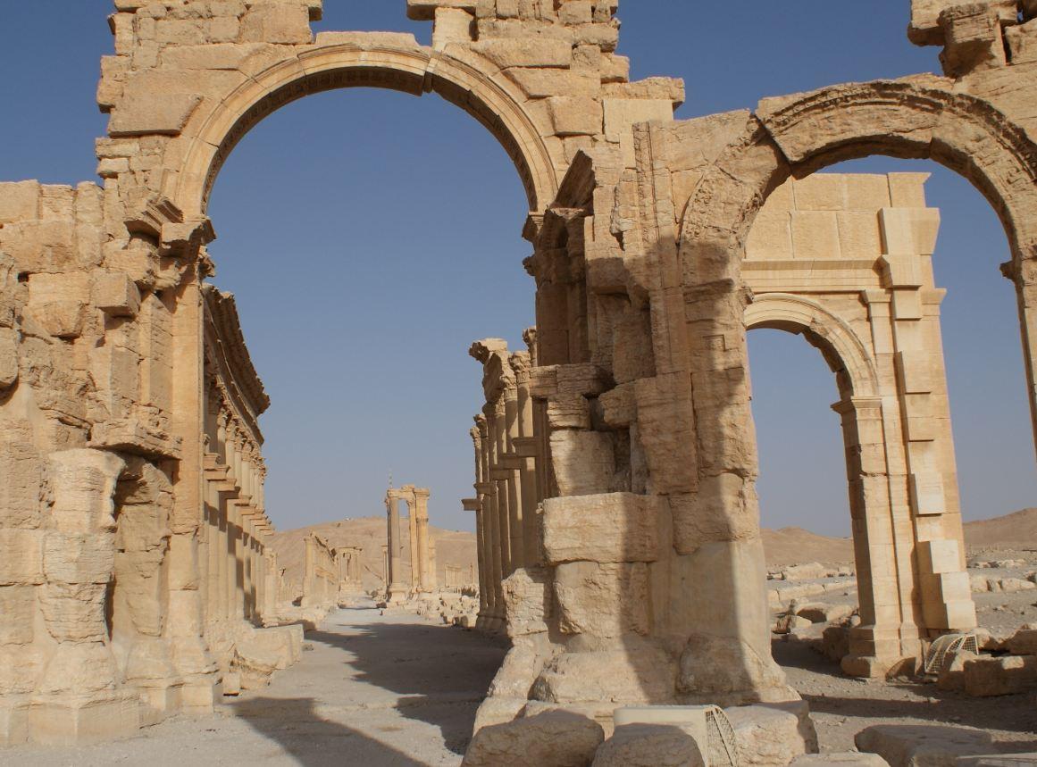 L'arco di Settimio Severo - Palmira - Siria