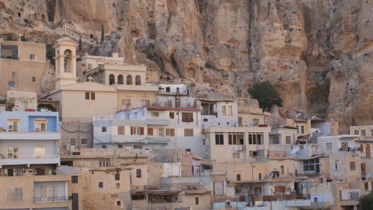 Panorama del villaggio di Malula