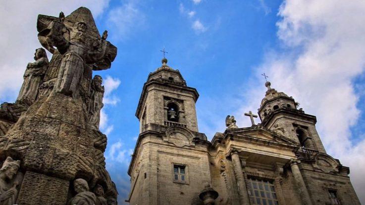 Monumento dedicato a San Francesco d'Assisi - Santiago de Compostela