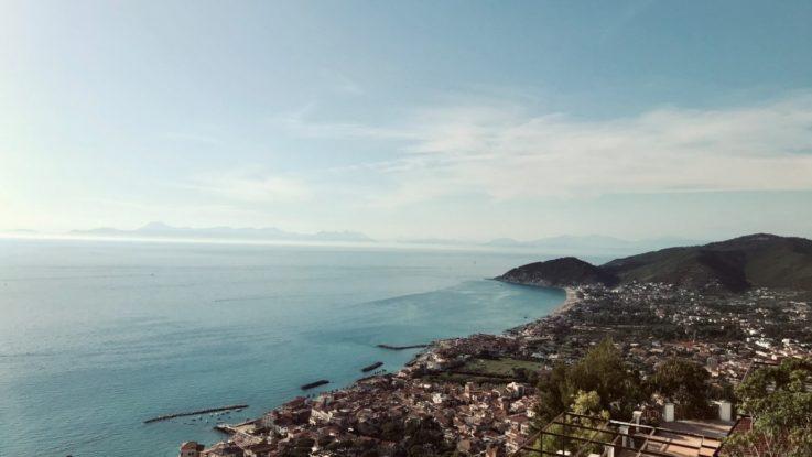 Vista dal Belvedere di Castellabate