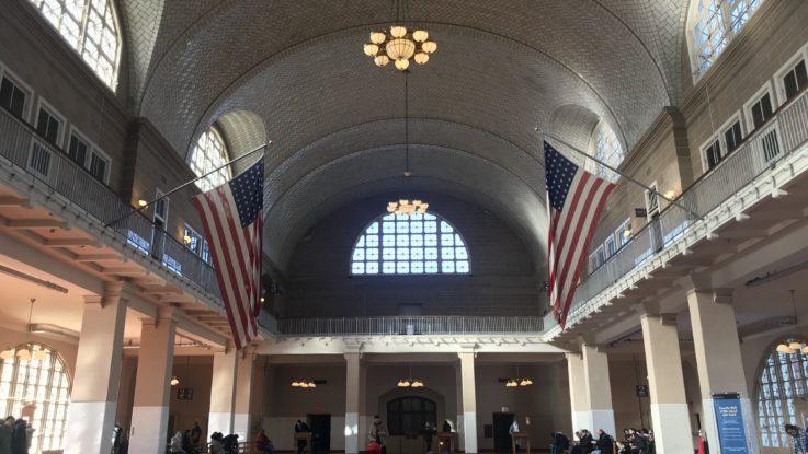 L'interno del Museo dell'Immigrazione