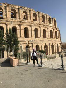 L'anfiteatro romano nella città di El Jem