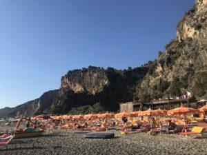 Le spiagge immense di Camerota