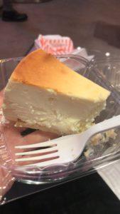 Cheesecake newyorkese