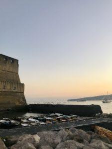 Uno scorcio del Castel dell'Ovo