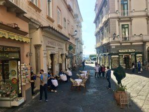 La via che arriva al Duomo