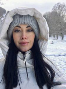Roberta sulla neve